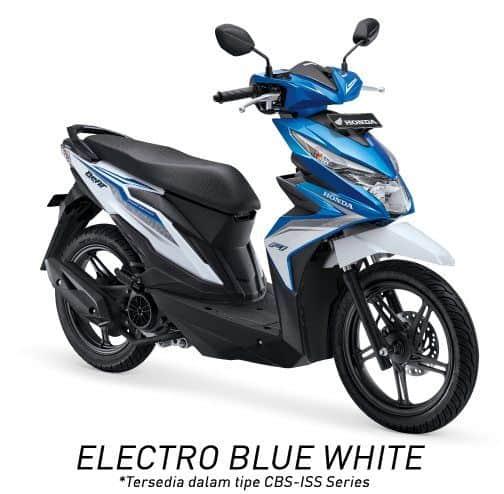 honda beat esp cbs iss k81 electro blue white