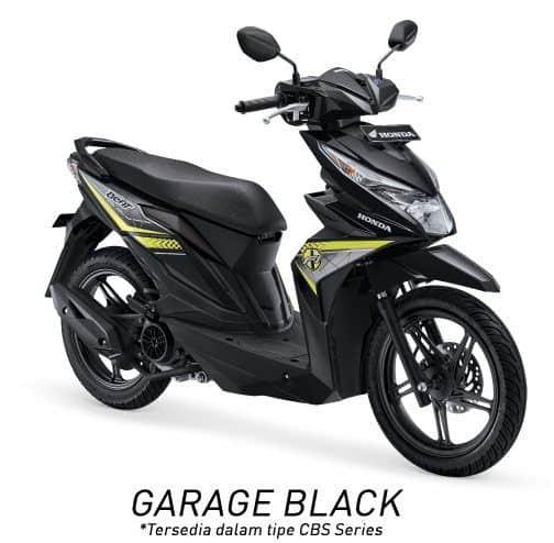 honda beat esp cbs k81 garage black