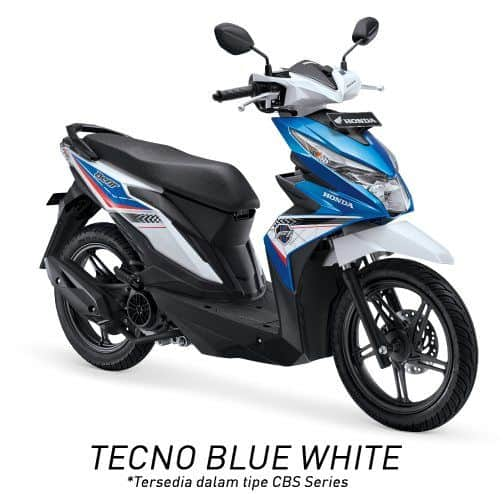 honda beat esp cbs k81 techno blue white