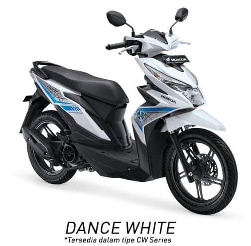 honda beat esp cw k81 dance white