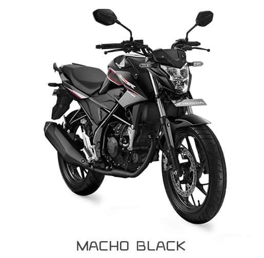 honda cb150r streetfire k15g macho black 1
