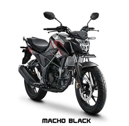 honda cb150r streetfire k15g macho black 2