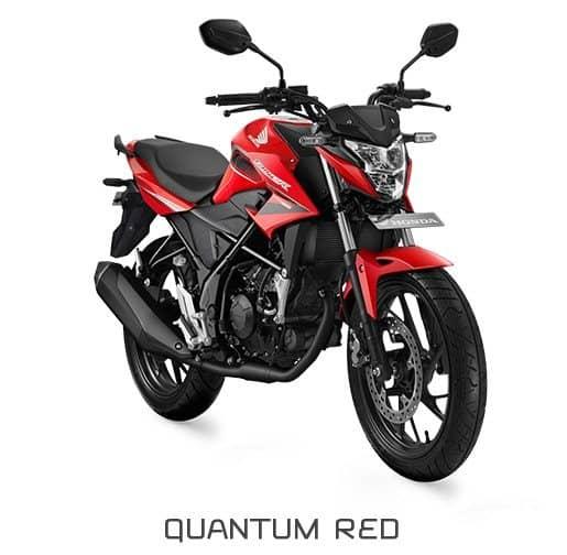 honda cb150r streetfire k15g quantum red