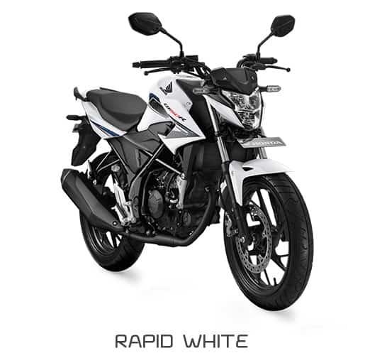 honda cb150r streetfire k15g rapid white 1