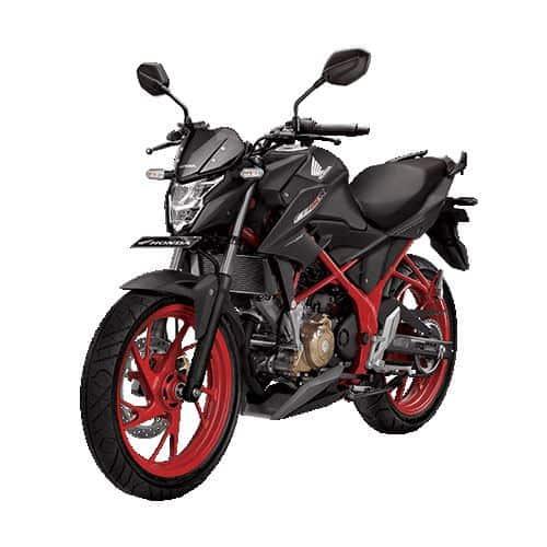 honda cb150r streetfire k15g special edition raptor black 1
