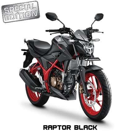 honda cb150r streetfire k15g special edition raptor black 2