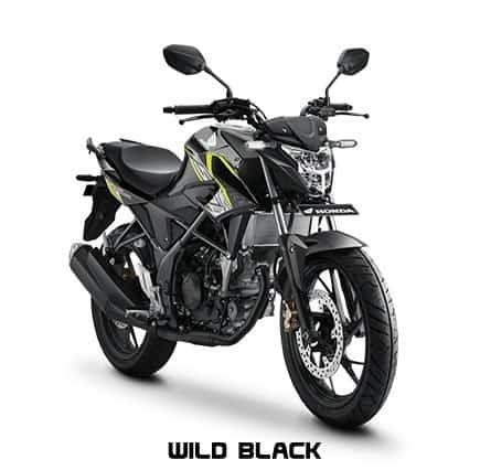 honda cb150r streetfire k15g wild black
