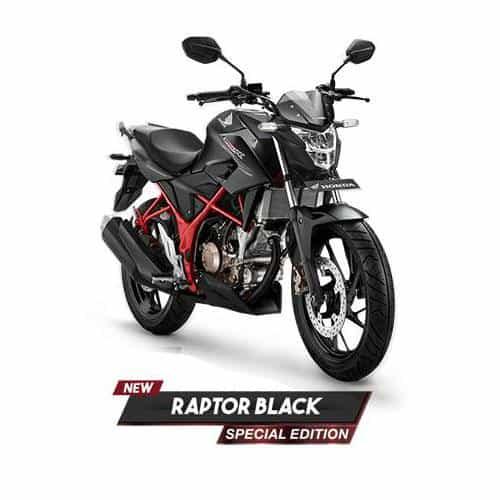 Honda New CB150R StreetFire Special Edition Raptor Black 3