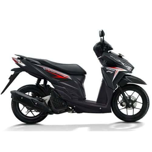 honda vario 125 esp k60 black red