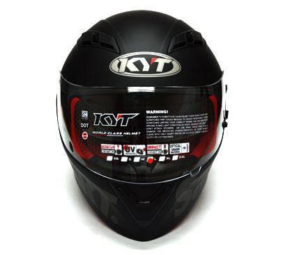 Helm KYT Satu Hati Black Matte Edition