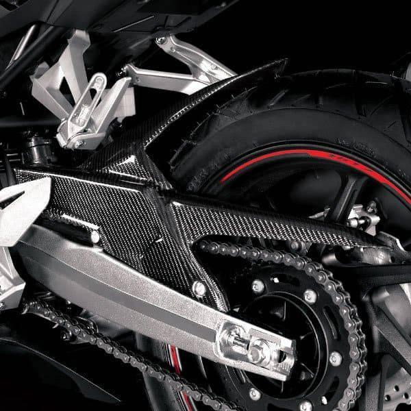 Hugger Carbon ( Tutup Rantai ) New Honda CBR 250RR
