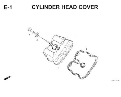 E1 Cylinder Head Cover