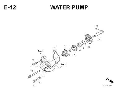 E12 Water Pump