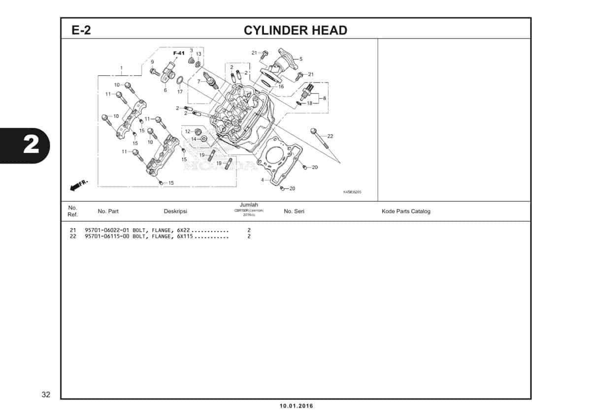 e2 cylinder head - 2