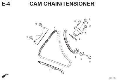 e4 cam chain tensioner