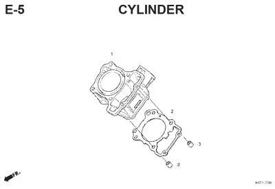 e5 cylinder