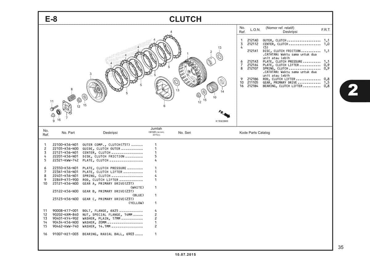 E8 Clutch