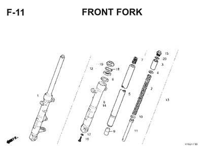 F11 Front Fork