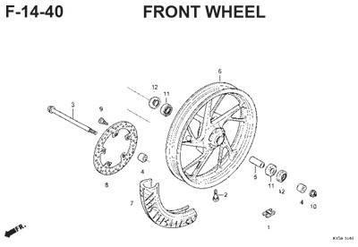 f14 40 front wheel