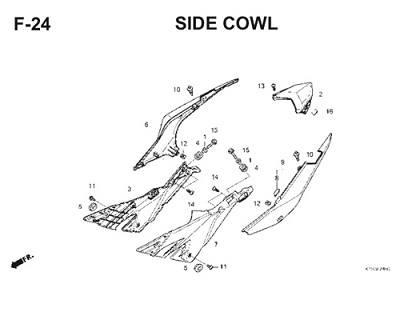 F24 Side Cowl