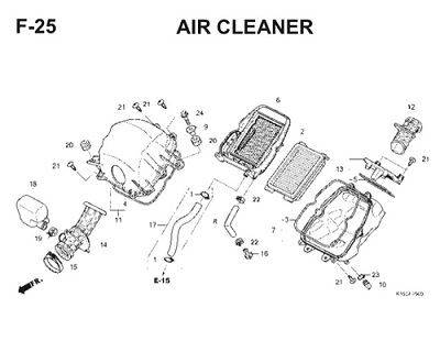 F25 Air Cleaner