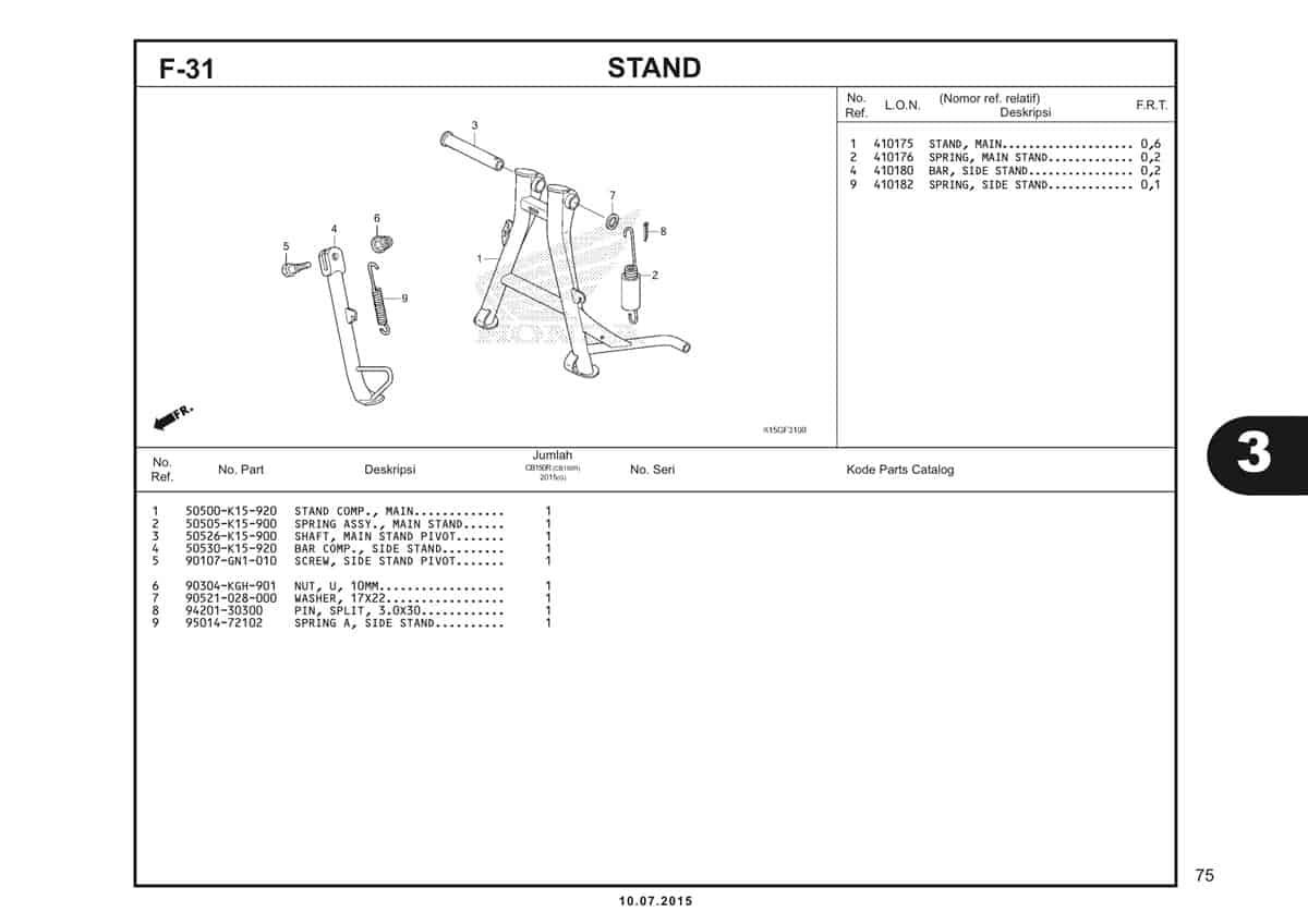 F31 Stand