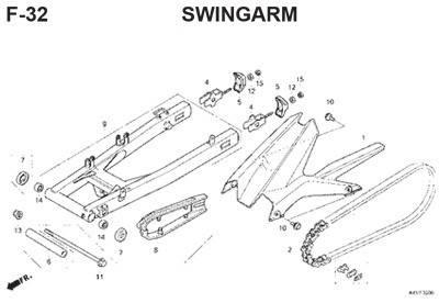 f32 swingarm