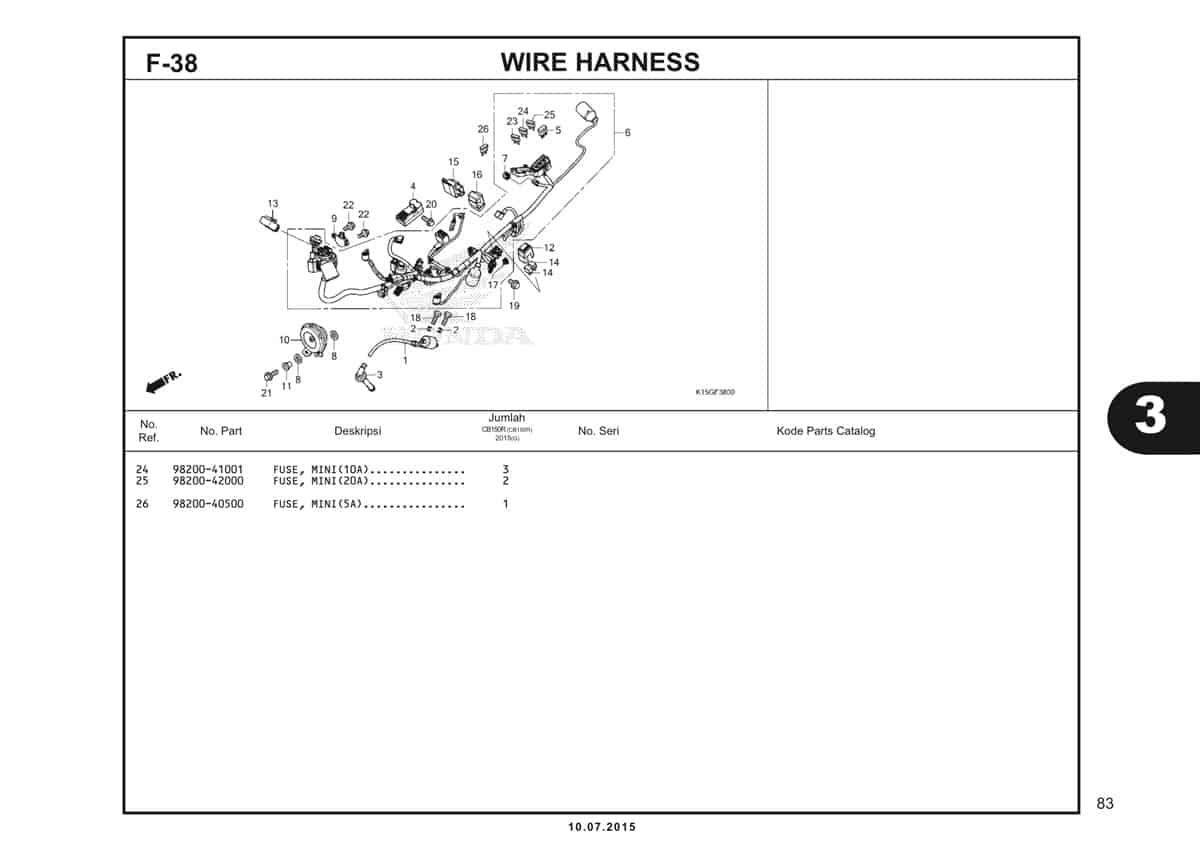 F38 Wire Harness 2