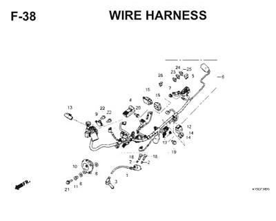 F38 Wire Harness