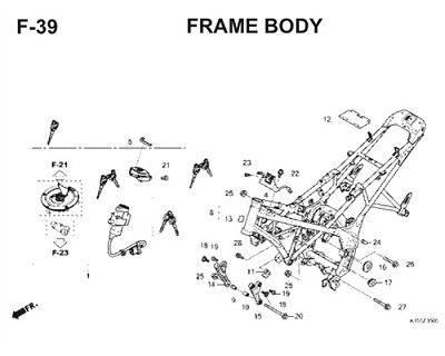 F39 Frame Body