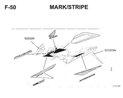 F50 Mark Stripe
