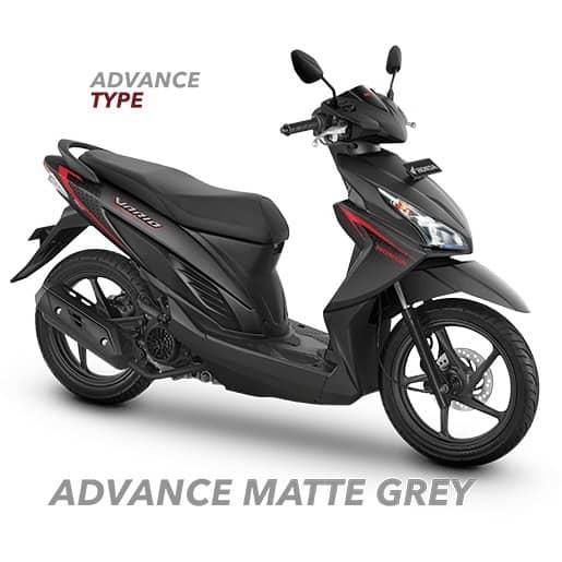 Honda Vario 110 eSP Advanced Matte Grey