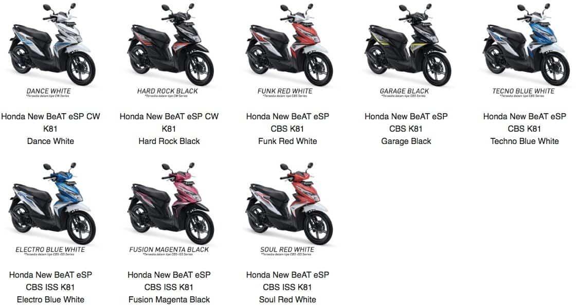 Katalog Suku Cadang Honda Beat Esp K81 Honda Cengkareng