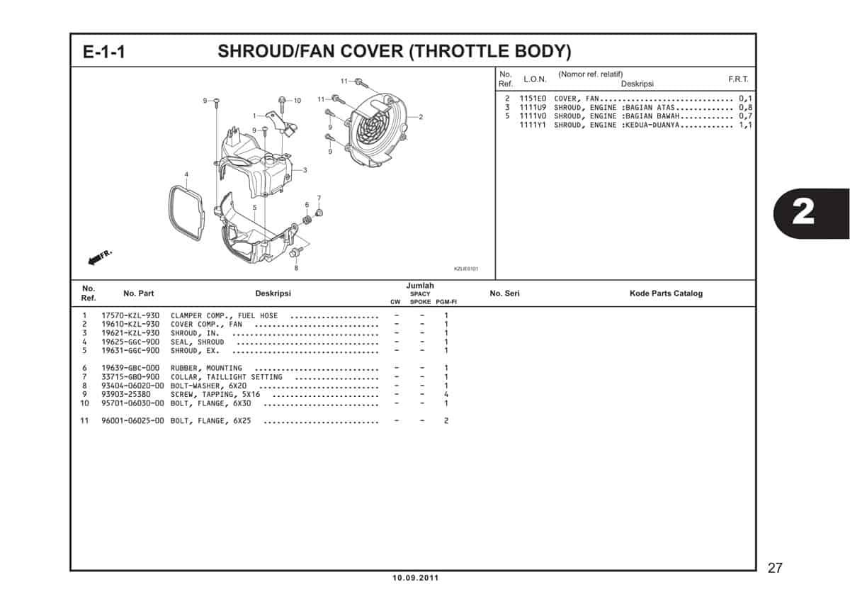 E1 1 Shroud Fan Cover