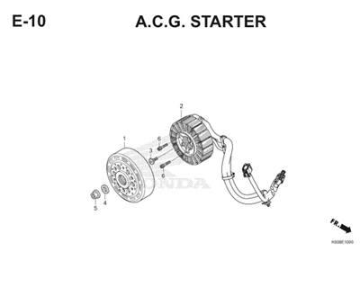 E10 A.C.G Starter Thumb