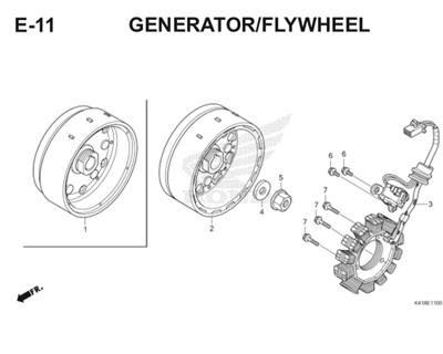 E11 Generator Fly Wheel Thumb