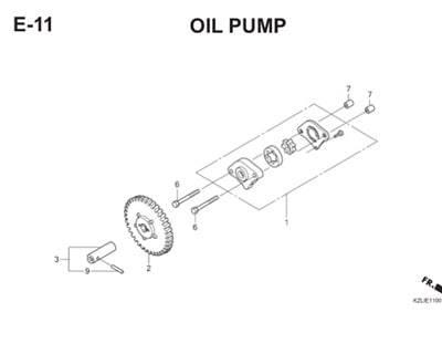 E11 Oil Pump Thumb