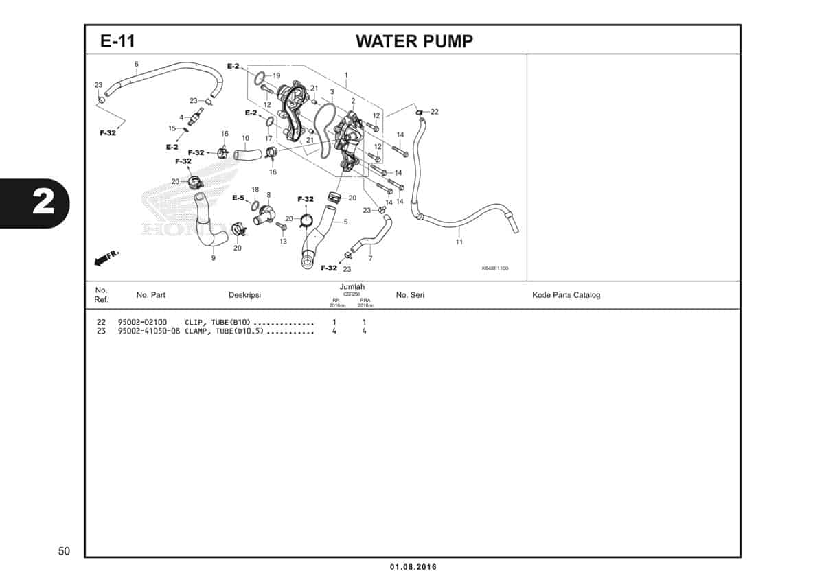 E11 Water Pump 2
