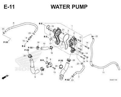 E11 Water Pump Thumb