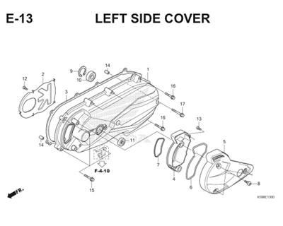 E13 Left Side Cover Thumb