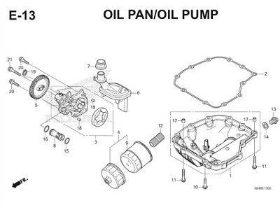E13 Oil Pan Oil Pump Thumb