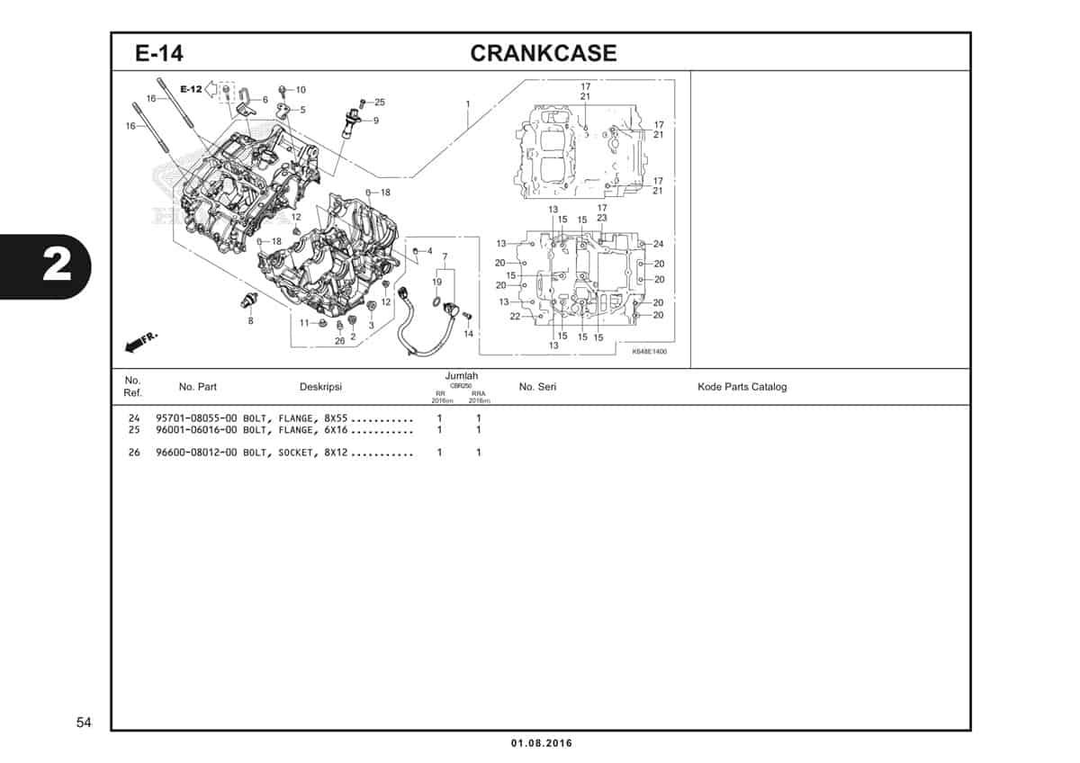 E14 Crankcase 2