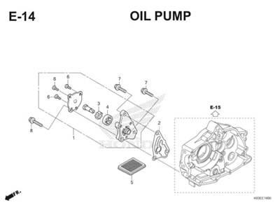 E14 Oil Pump Thumb
