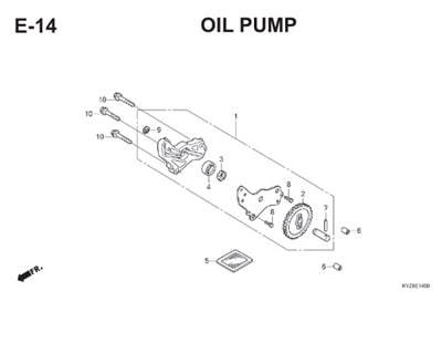 E14 Oil Pump Thumb