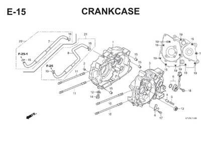 E15 Crankcase Thumb