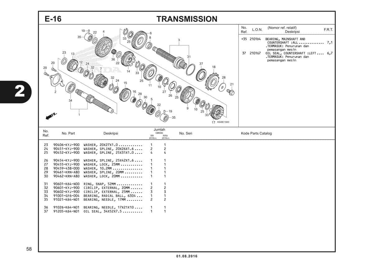 E16 Transmission 2