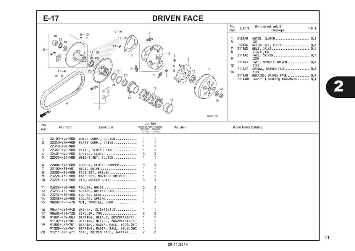 E17 Driven Face 1