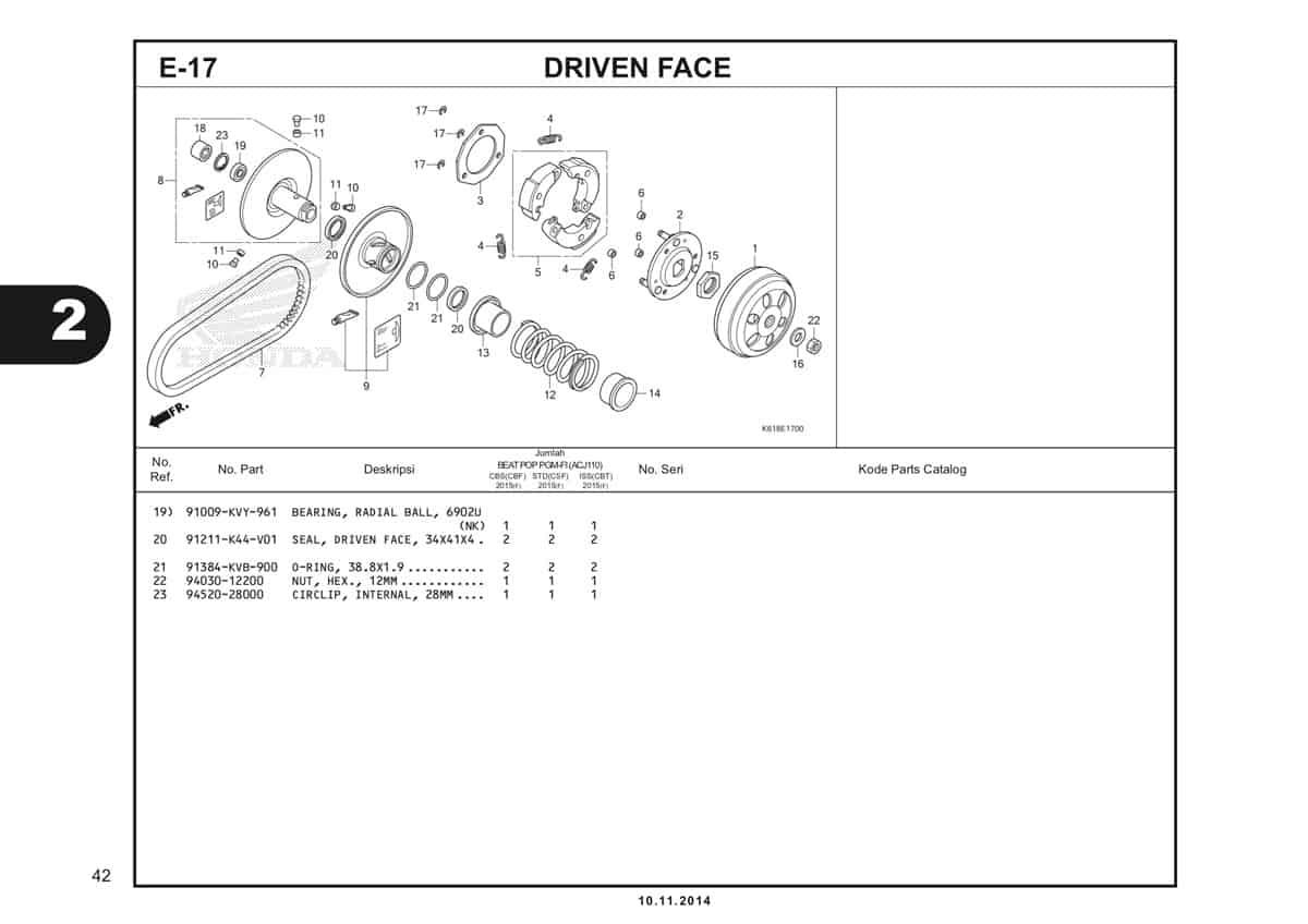 E17 Driven Face 2