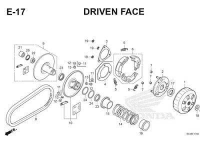 E17 Driven Face Thumb