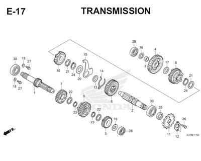 E17 Transmission Katalog Blade K47 Thumb